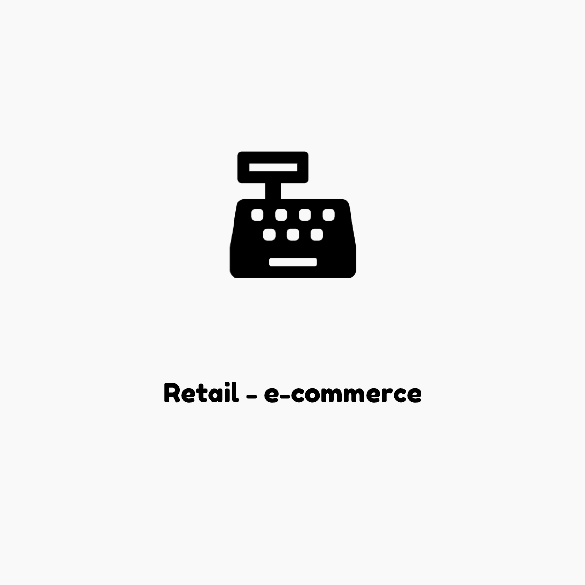 Retail e-commerce