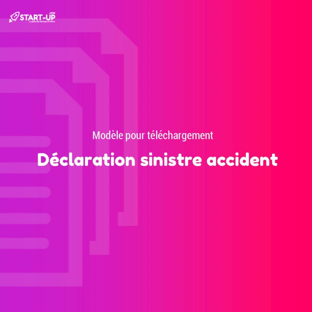 Déclaration sinistre accident