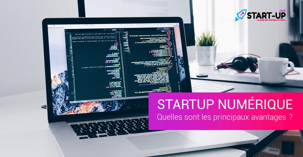 Startup numérique