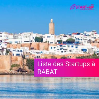 Liste des Startups à Rabat