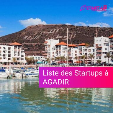 Liste des Startups à Agadir