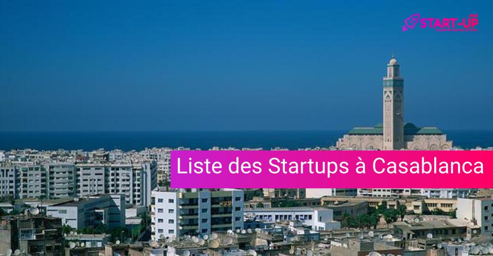 Liste des Startups à Casablanca
