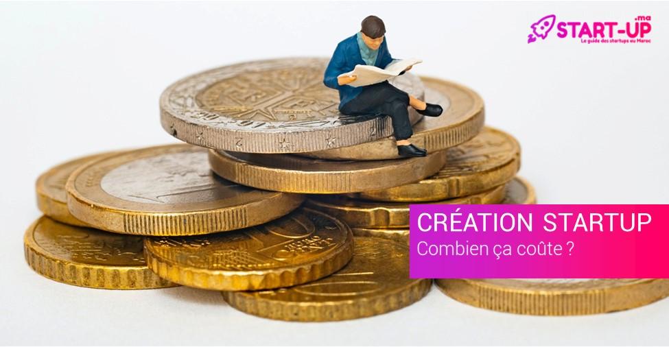 coût création Startup
