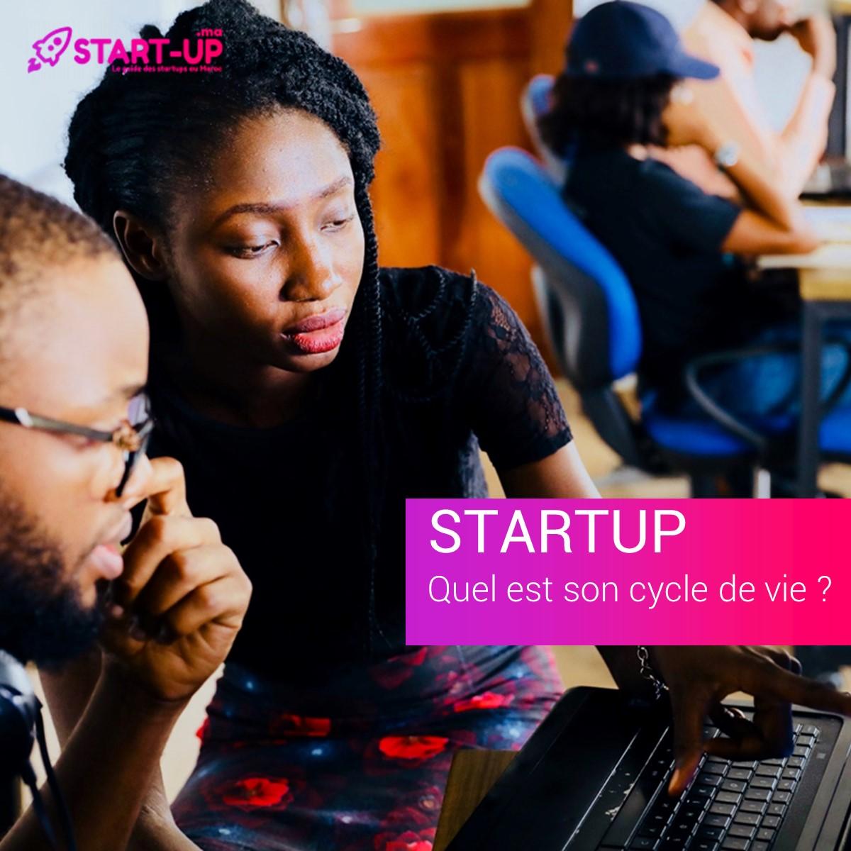 cycle de vie Startup