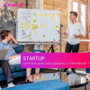 expansion à l'international Startup