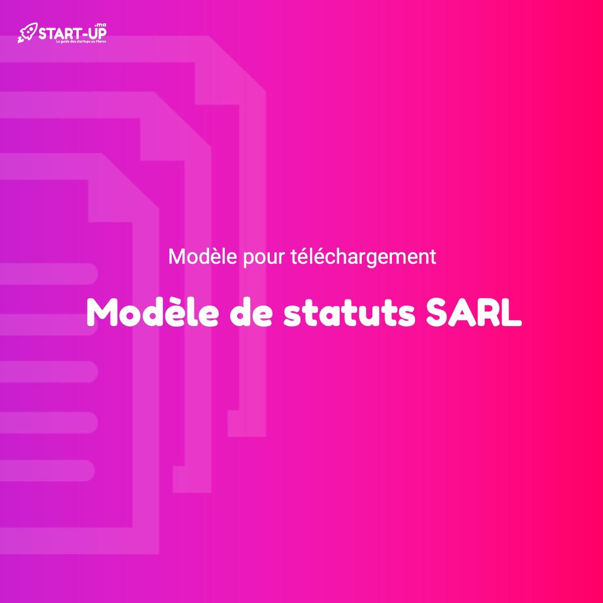 Modèle de statuts SARL